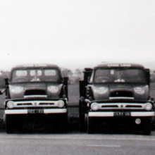 1962 - Fleet photo at depot